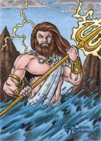 Poseidon - Classic Mythology by tonyperna