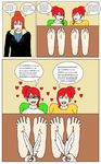 Calvina Tickle The Twins by narutobyrufy