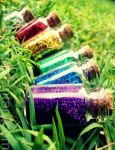 magical bottles by chaffyy