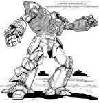 Battletech: Dasher II by Mecha-Zone