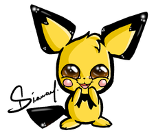 Pichu by Diamondza