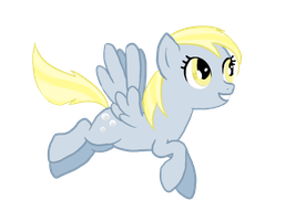 Derpy in Last Round up by lane-nee-chan