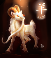 The Year Of The Goat by TigresaDaina
