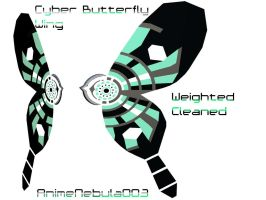 Cyber Butterfly Wings DL! by AnimeNebula003