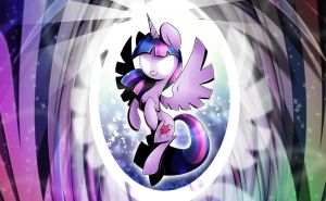 Twilight Wallpaper by PegaSisters82
