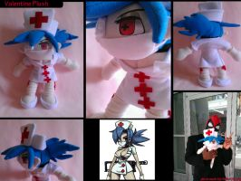 Skullgirls: Valentine Plush by Belle43
