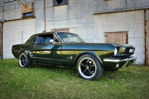Dad's Mustang by clfry