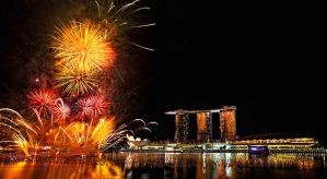 Fireworks, New Year 2012 by josgoh