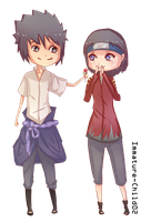 Point Commission Sasuke x Yuki by Immature-Child02