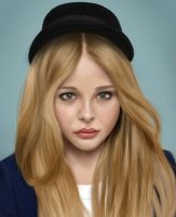 Chloe Grace Moretz by bottleofgin