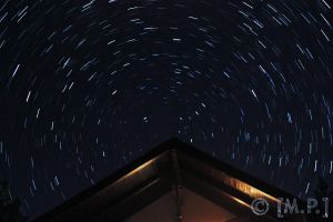 Star Trails - Roof by Mashified