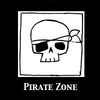 Pirate Zone by DoodlesandDaydreams