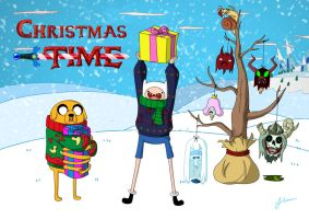 Merry Christmas adventure time! by chocobojeff