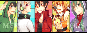 MEKAKUCITY ACTORS by 46kuma