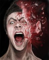 me in horror style ( inspired by nico di mattia) by naggipainting