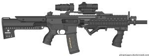 R235 UMR Urban Marksman Rifle by BurnerMeen