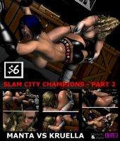 Slam City Champions - Part 2 Cover by Realms-And-Void