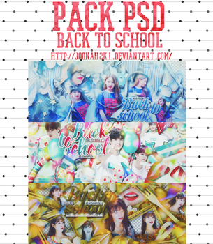 [Share PSD] /6.9.2016/ Back to school by JoonAh2k1
