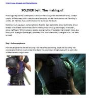 SOLDIER belt: The making of by NomesCosplay