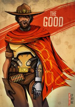 McCree - The Good by RedUnitInk