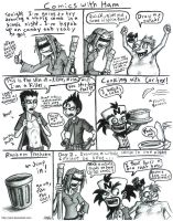 Comics With Ham by JenL