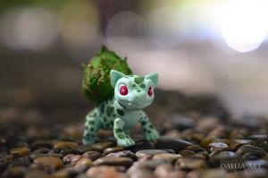 Miniature bjd pokemon bulbasaur