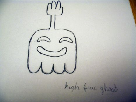 High five ghost by Revengaa7175