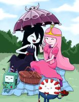 marceline and Bonnie by quttles