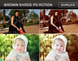 BROWN SHADE PHOTOSHOP ACTION  0014 by symufa