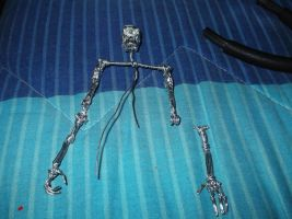 making a terminator in wire by TheWallProducciones