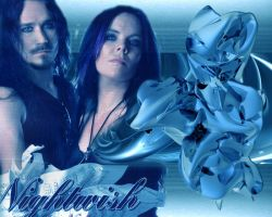 Anette Olzon and Tuomas by IrenaT