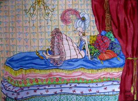 Princess and the Pea by Bogca