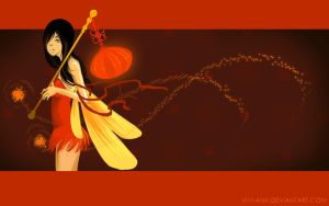 Firefly - wallpaper by Vivi-Anh