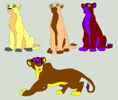 Lioness Adoptables! by lionponyharvestking