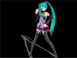 Tell Your World Miku by RinLenFan