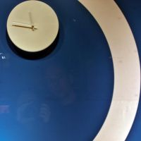 day 86 - white time on a blue background by ltiana355