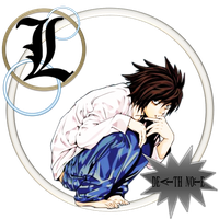 Death Note  L  -   PNG by SungEdiiTiioOn