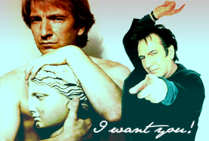 Alan Rickman Wallpaper 1 by naina91