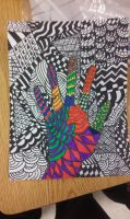 Zentangle (Colored) by Lonely-North-Star