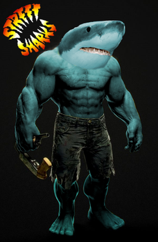 The Live Action Street Sharks by Wobtar