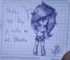 esta es mi libreta (?) by Any1995