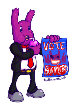 Vote for Bunnylord by Memoski