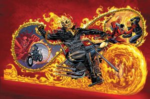 Marvel Universe Ghost Rider by bennyfuentes
