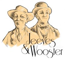 Jeeves and Wooster by DarkJimbo