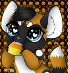 Candy Corn NomsKovex Candy Corn Noms by TheHuntingWolf
