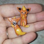 Flareon Earrings by Micrackin
