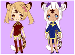 Gold and Silver Adopts [CLOSED] by Pikapaws