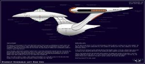 Venerable Class Explorer - Side View by dcmstarships