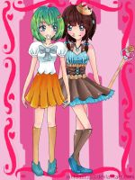 Contest entry Yumi and Rika by Meliiesa