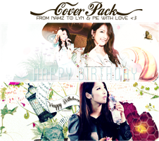 [Cover Pack|PSD] Happy Birthday to all my love by namiznmy